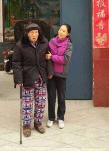 Chen Qinglin et Chen Kunna Chenjiagou Tai Chi style Chen Xiaojia Taiji Lyon 2