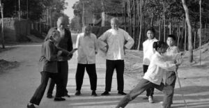 cours de tai chi a chenjiagou henan chine enfants vieux maitres chinois style chen taichi lyon