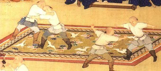 Wushu Kung Fu - Arts martiaux chinois - Lutte mongole