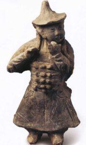 Tenue de Tai Chi - Premiers brandebourgs en chine - Dynastie Jin