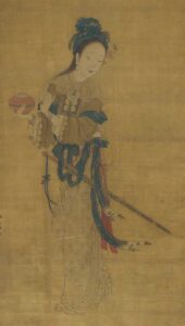Chinoises Kungfu Femmes Guerrieres Chine Hua Mulan Peinture