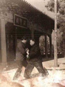 Taijiquan style Chen Boxiang Tuishou Xiaojia