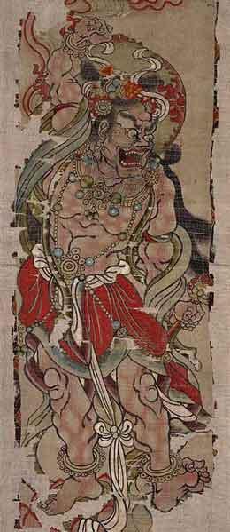 Taiji-Quan-style-Chen-Varjapani-Dunhuang-9eme-siecle-Tang.-opt
