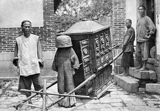 Femme-Chinoise-Marriage-Ceremonie-1913