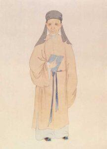 Huang-Zongxi-Epitaphe-Wang-Zhengnang-Zong-Xi