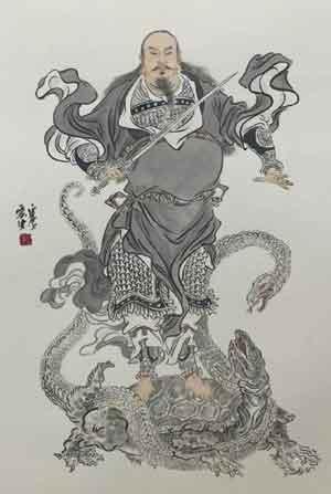 xuanwu-guerrier-noir-taoisme